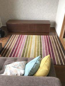 CONTE:TVボード+ハグみじゅうたん
