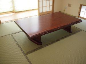 special older:テーブルの再塗装