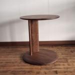 conte:サイドテーブル ウォールナット/ワックス仕上げ