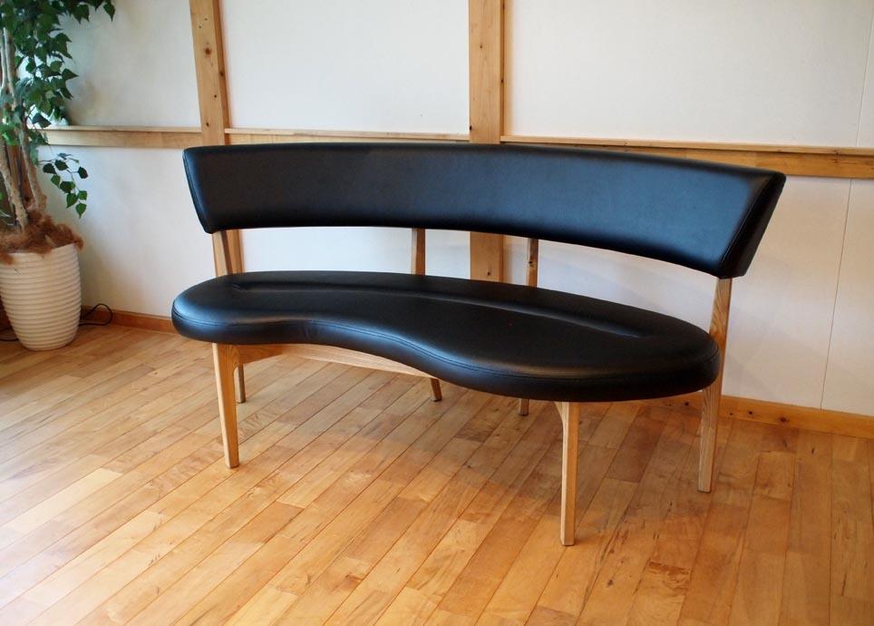 Bio sofa タモ/ワックス仕上げ